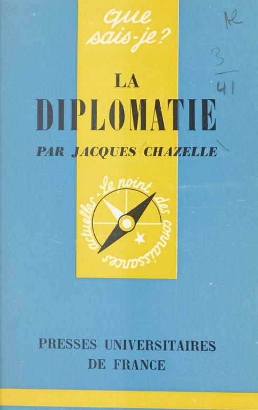 La diplomatie