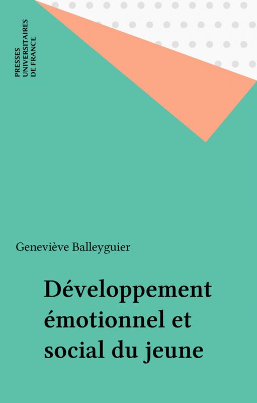 Développement émotionnel et social du jeune