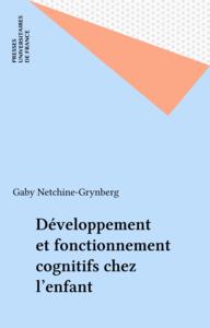 Développement et fonctionnement cognitifs chez l'enfant