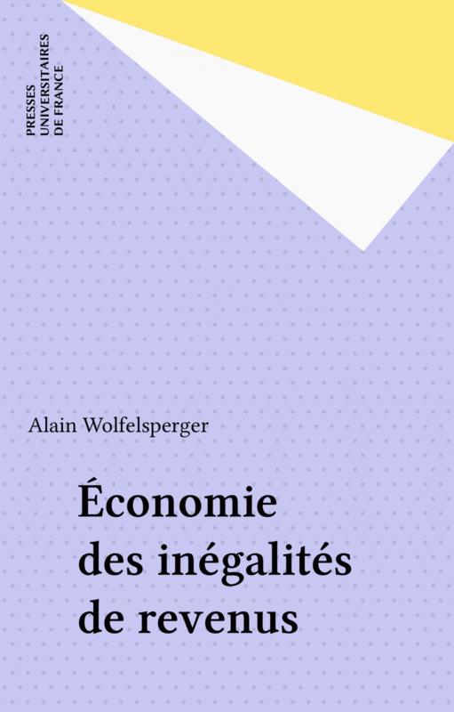 Économie des inégalités de revenus