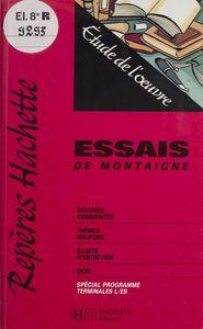 «Essais» de Montaigne Étude de l'œuvre
