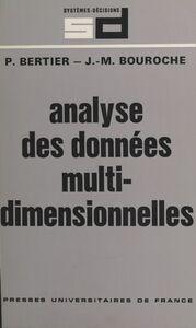 Analyse des données multidimensionnelles