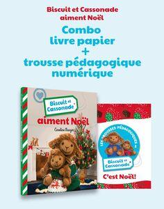 Biscuit et Cassonade aiment Noël (Combo) Trousse pédagogique