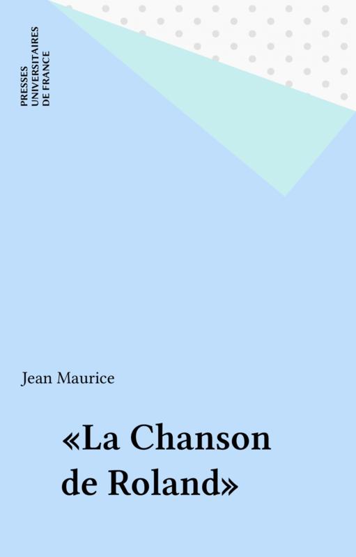 «La Chanson de Roland»