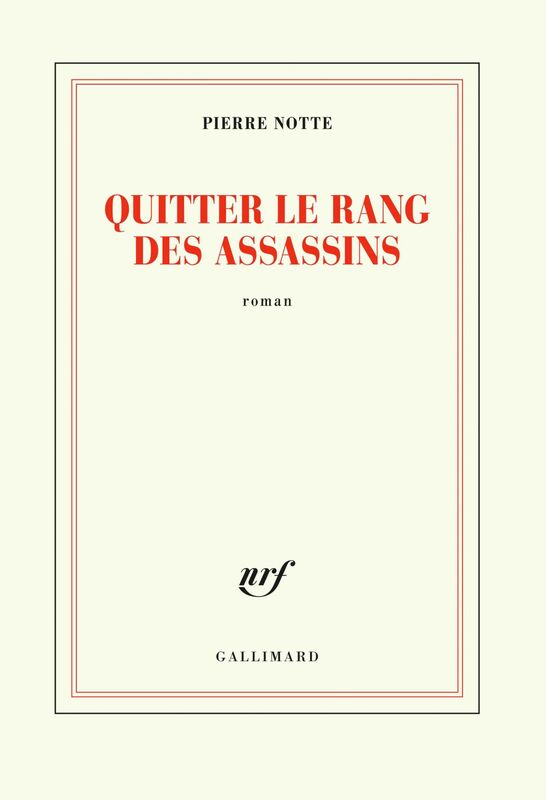 Quitter le rang des assassins