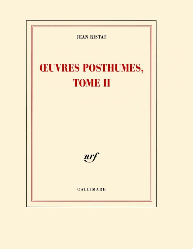 Œuvres posthumes (Tome 2)