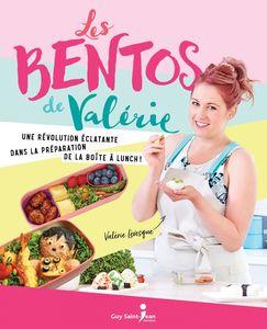 Les bentos de Valérie Une révolution éclatante dans la préparation de la boîte à lunch !