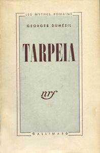 Tarpeia Essais de philologie comparative indo-européenne