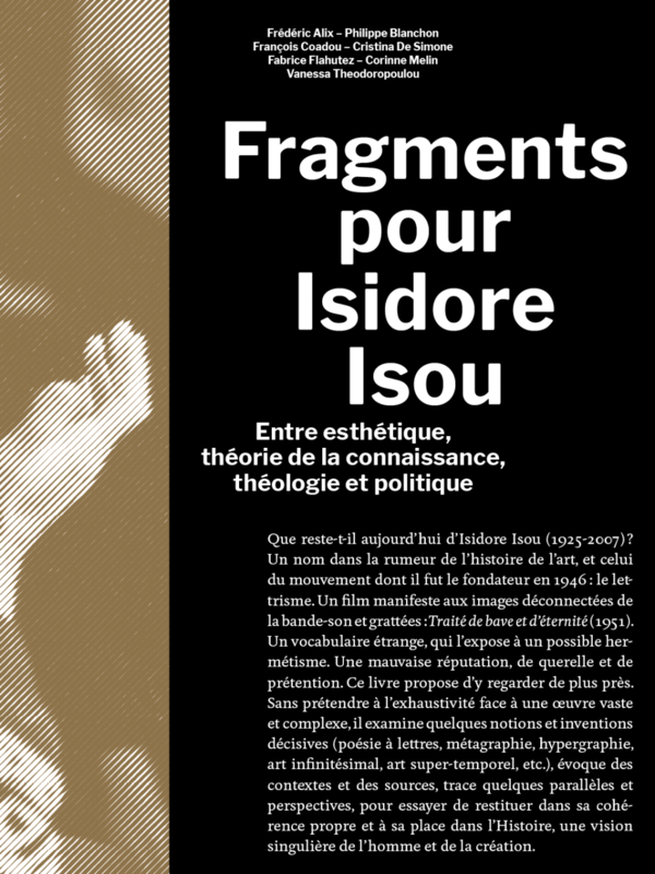 Fragments pour Isidore Isou
