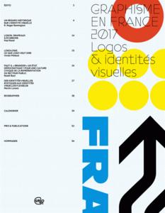 Graphisme en France 2017 Logos & identités visuelles