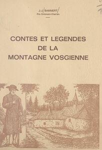 Contes et légendes de la montagne vosgienne