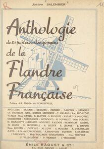 Anthologie de 50 poètes contemporains de la Flandre française