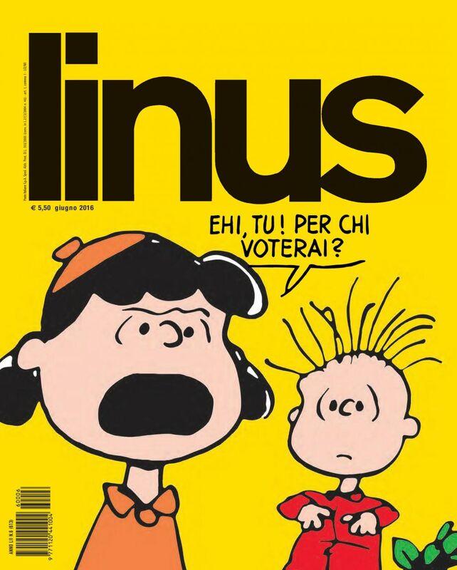 Linus. Giugno 2016
