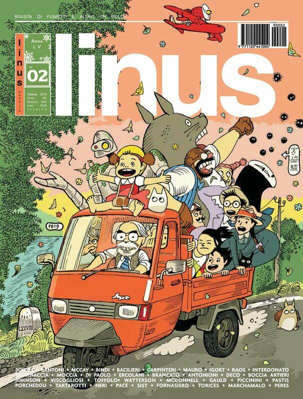 Linus. Febbraio 2019