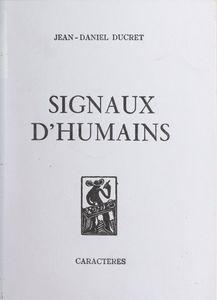 Signaux d'humains