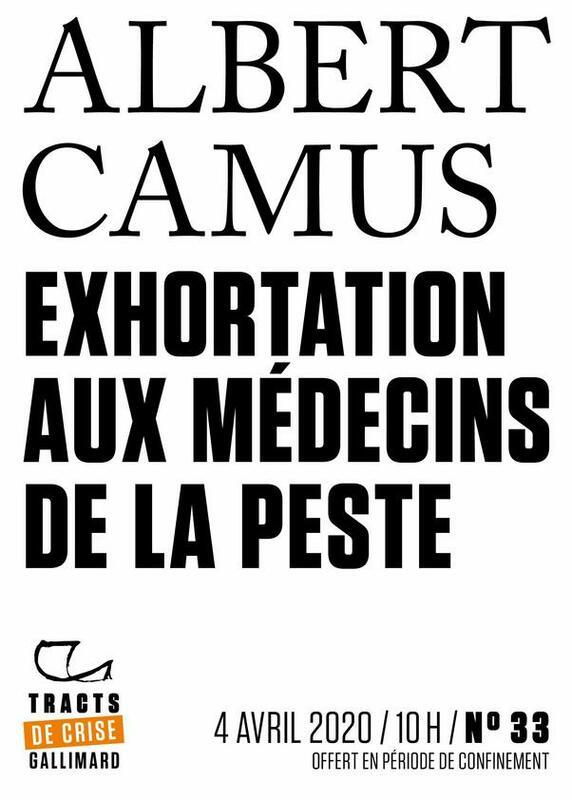 Tracts de Crise (N°33) - Exhortation aux médecins de la peste