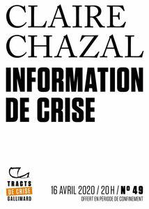Tracts de Crise (N°49) - Information de crise