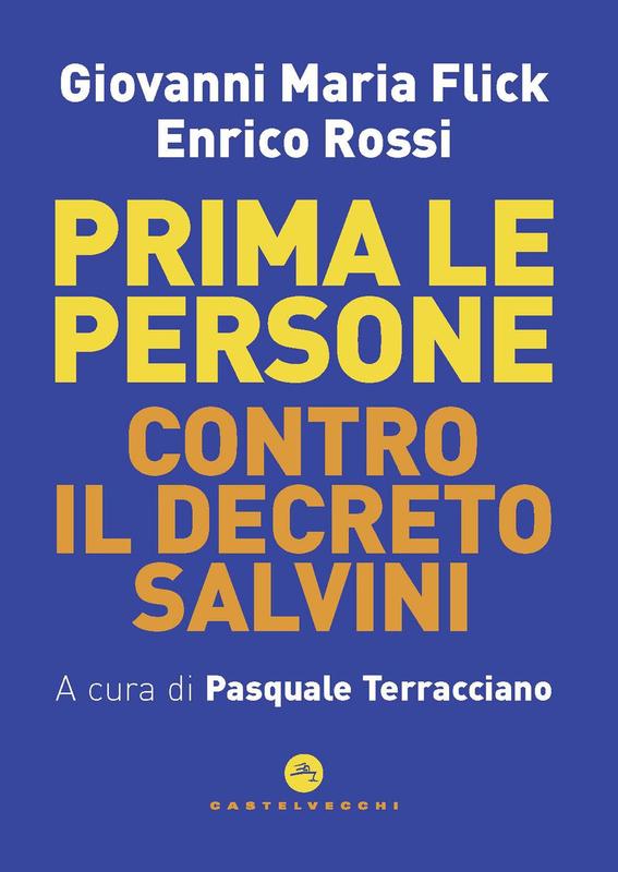 Prima le persone Contro il Decreto Salvini