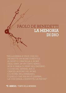 La memoria di Dio