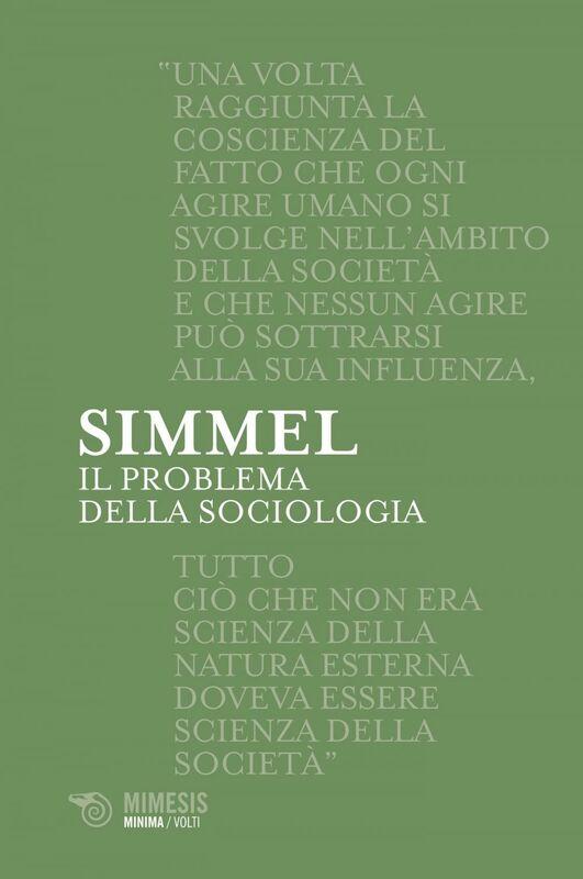 Il problema della sociologia
