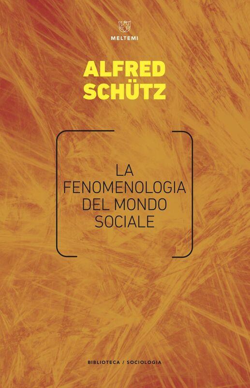 La fenomenologia del mondo sociale