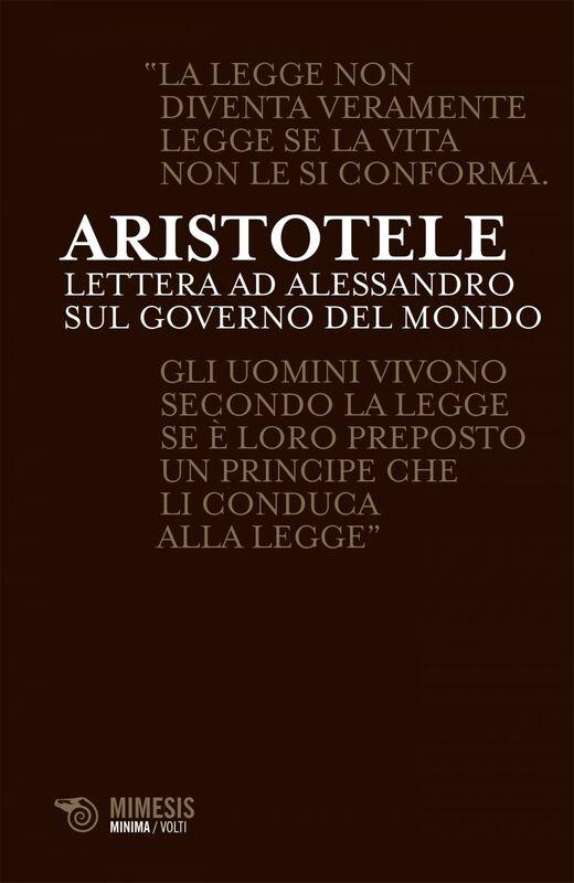 Lettera ad Alessandro sul governo del mondo