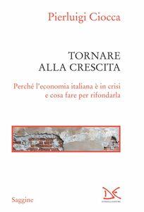 Tornare alla crescita Perché l'economia italiana è in crisi e cosa fare per rifondarla