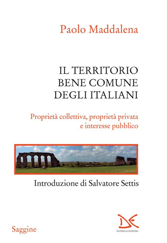 Territorio, bene comune degli italiani