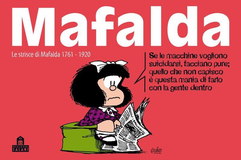 Mafalda Volume 12 Le strisce dalla 1761 alla 1920