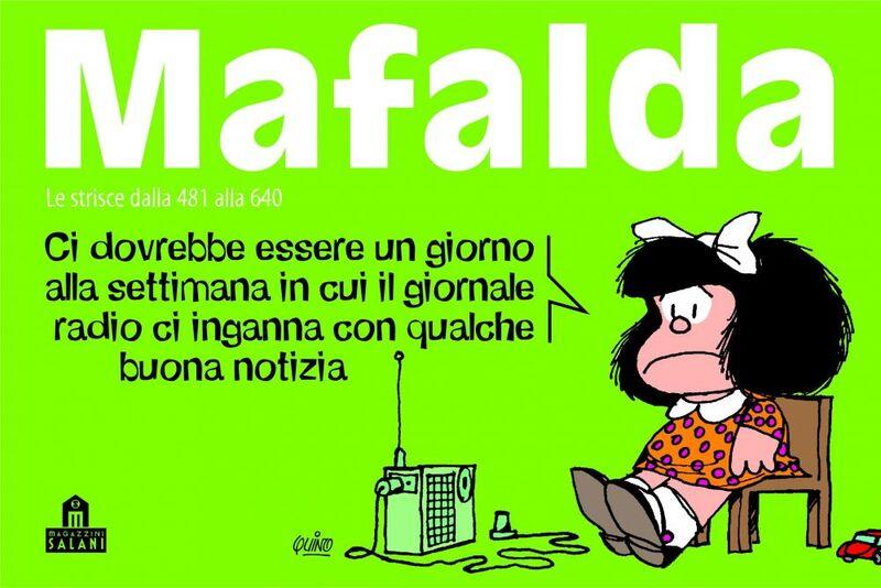 Mafalda Volume 4 Le strisce dalla 481 alla 640