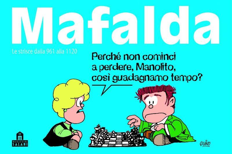 Mafalda Volume 7 Le strisce dalla 961 alla 1120