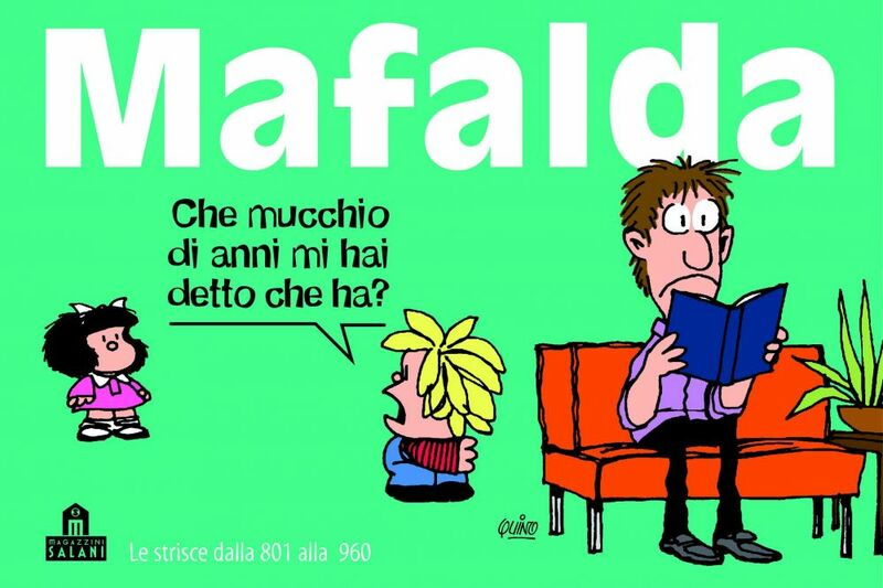 Mafalda Volume 6 Le strisce dalla 801 alla 960