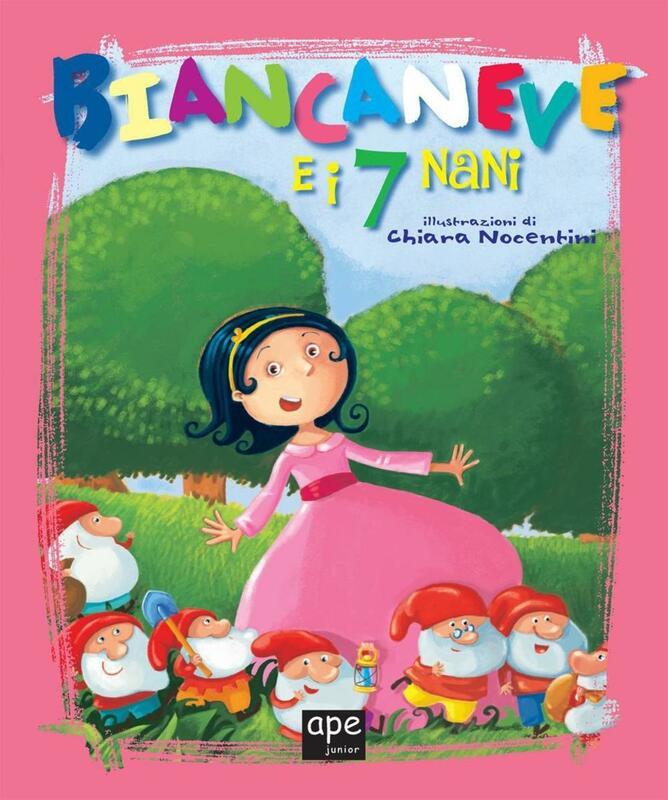 Biancaneve e i 7 nani Fiabe classiche illustrate
