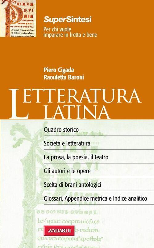Letteratura latina Sintesi Super
