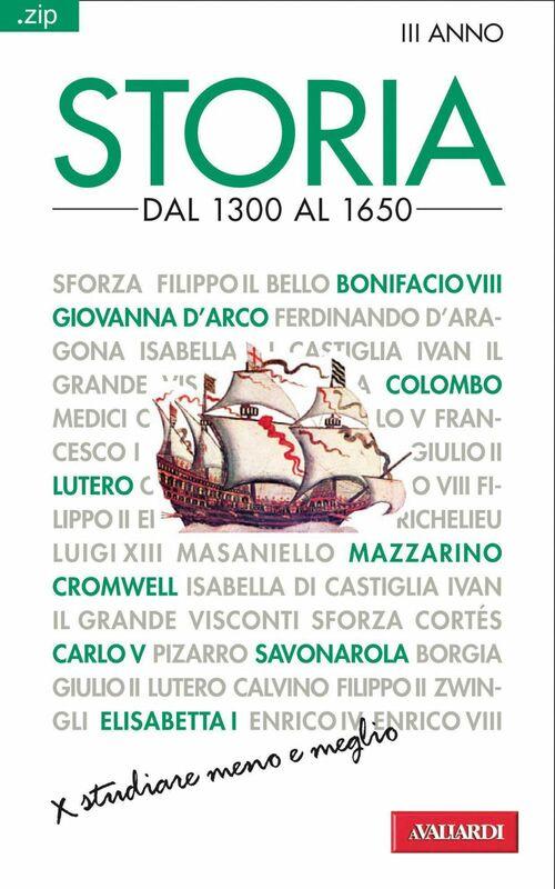 Storia. Dal 1300 al 1650 Sintesi .zip