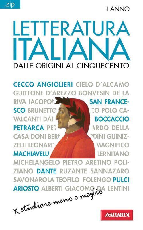 Letteratura italiana. Dalle origini al Cinquecento Sintesi .zip
