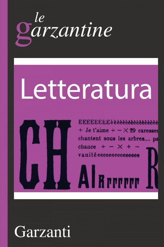 Letteratura le garzantine