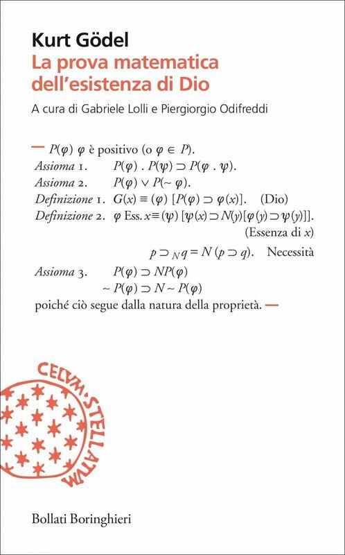 La prova matematica dell'esistenza di Dio