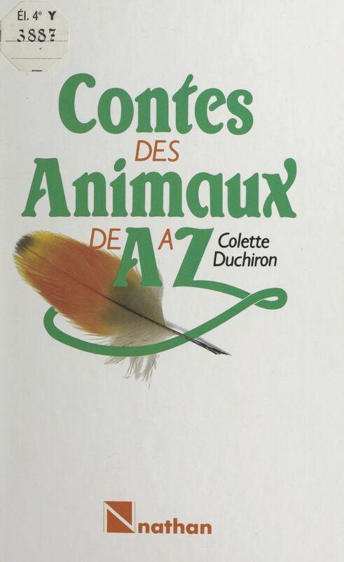 Contes des animaux de A à Z