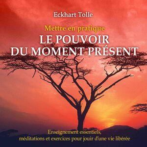 Mettre en pratique le pouvoir du moment présent : Enseignement essentiels, méditations et exercices pour jouir d'une vie libérée Mettre en pratique le pouvoir du moment présent