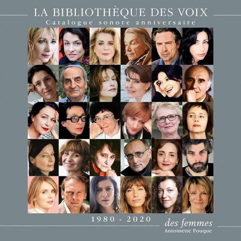Catalogue sonore La Bibliothèque des voix 1980-2020 Anniversaire