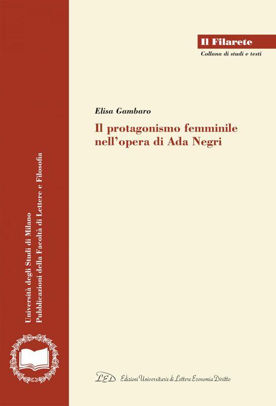 Il protagonismo femminile nell'opera di Ada Negri