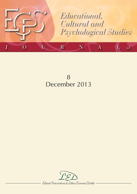 Journal of Educational, Cultural and Psychological Studies (ECPS Journal) No 8 (2013)