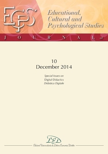 """Journal of Educational, Cultural and Psychological Studies (ECPS Journal) No 10 (2014) Special Issues on """"Digital Didactics"""""""
