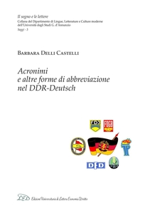 Acronimi e altre forme di abbreviazione nel DDR-Deutsch