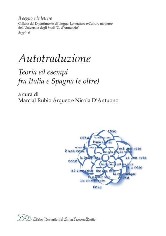 Autotraduzione Teoria ed esempi fra Italia e Spagna (e oltre)