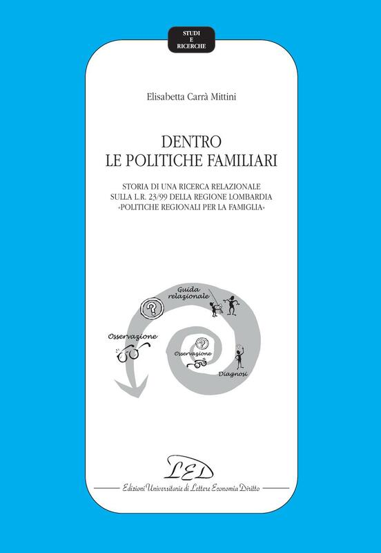 Dentro le politiche familiari Storia di una ricerca relazionale sulla Legge 23/99 della Regione Lombardia «Politiche regionali per la famiglia»