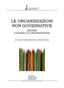 Le organizzazioni non governative Risorse e modelli di organizzazione