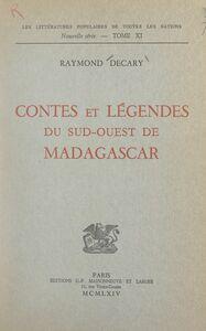Contes et légendes du Sud-Ouest de Madagascar