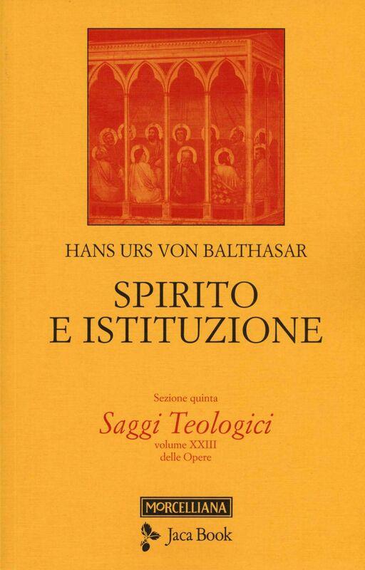 Spirito e Istituzione